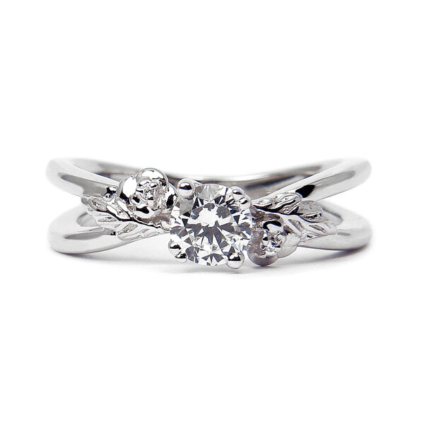 foliage engagement ring - Popular Wedding Rings