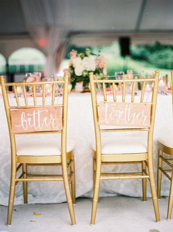 Dcoration De Chaises Mariage 45 Ides Uniques