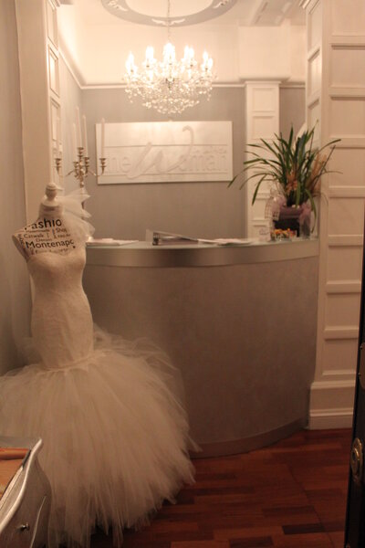 Reception front office, The Woman in White.