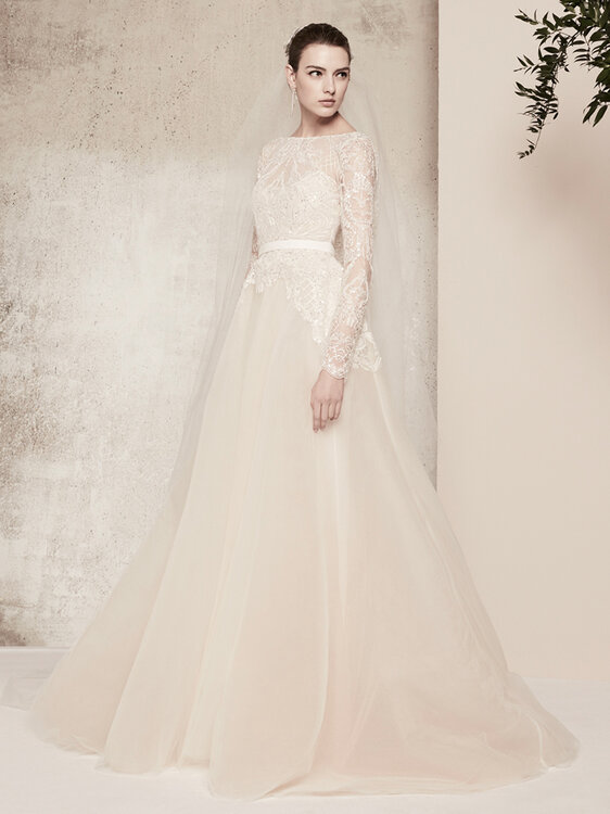 Vestidos de novia para flaquitas