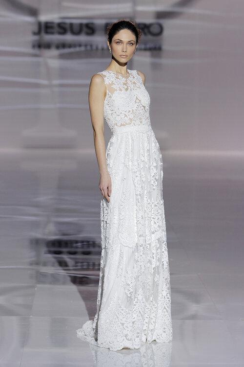 Die neue Kollektion von Jesus Peiró 2019: Brautkleider, die Sie auf ...