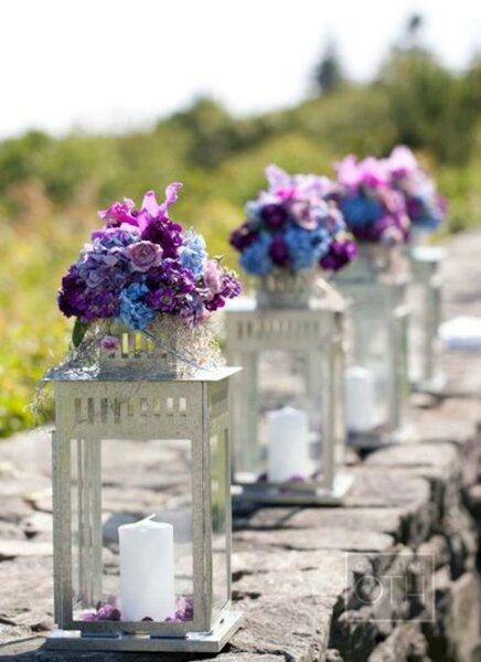 Iluminando tu boda con velas - Transferir fotos a velas ...