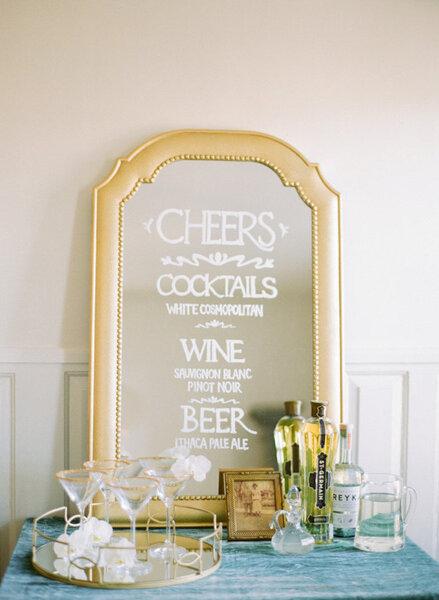 Geef een speciaal tintje aan je bruiloft door spiegels als decoratie te gebruiken - Studio decoratie ...