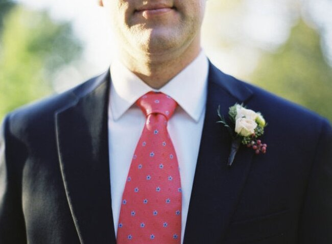 Corbatas de colores para novios