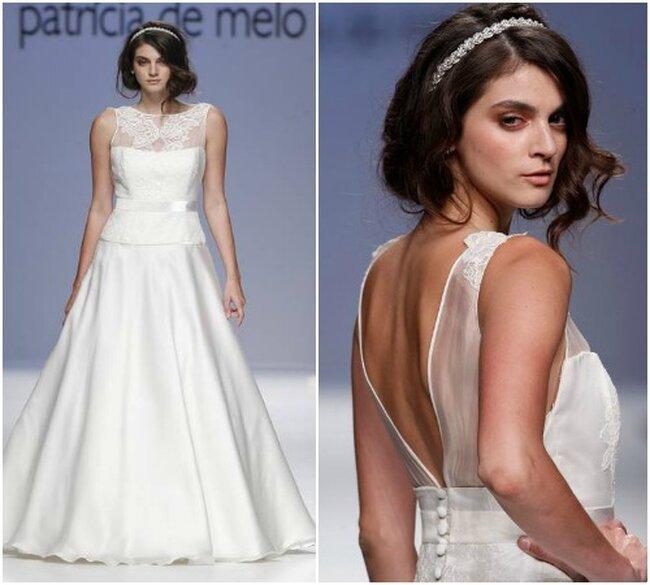 Vestido de noiva Joana Montez & Patricia de Melo 2013. Fotos: Ugo Camera  Barcelona Bridal Week