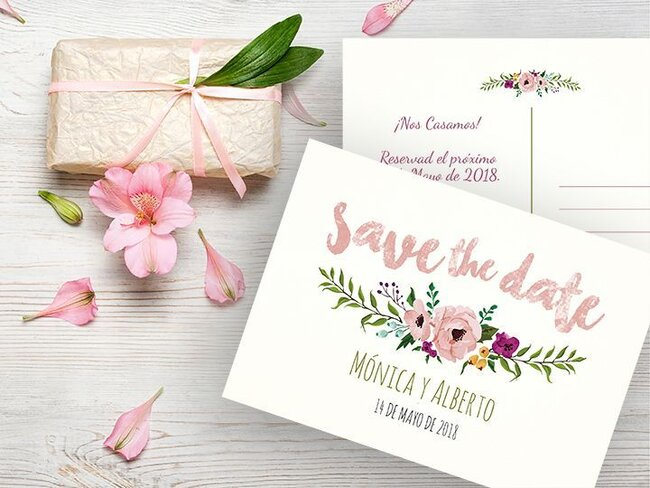 37 tipos de invitaciones de boda Toma nota e invita con estilo
