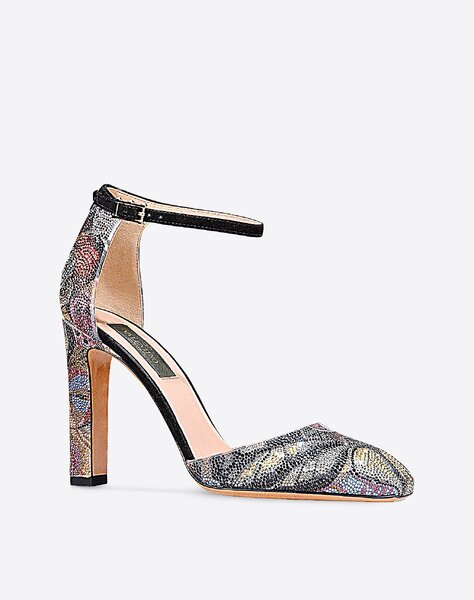 Camubutterfly ankle strap, Valentino.