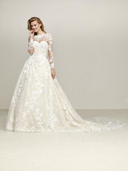 Vestidos de novia corte princesa: diseños extraordinarios que no ...