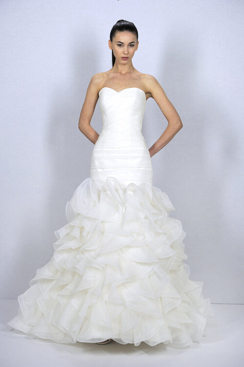 Bridal Collection Dennis Basso for Kleinfeld Spring 2013