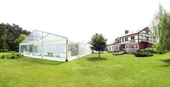 Namiot na przyjęcie weselne
