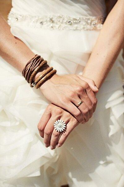 Ślub tematyczny inspirowany dzikim zachodem. Fot. Aneta Garbowska