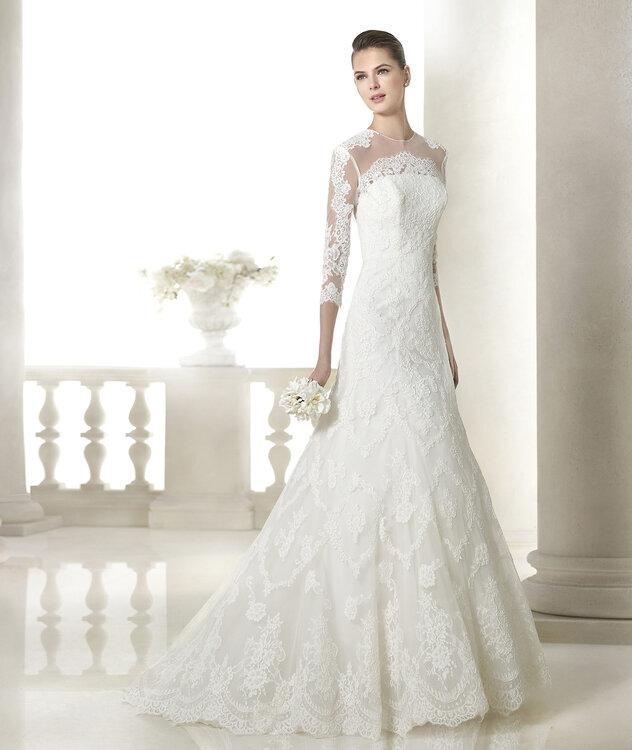 vestidos de novia san patrick 2015 – vestidos largos