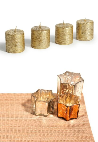 Ton brunch de mariage sera tout en or for Set de table maison du monde