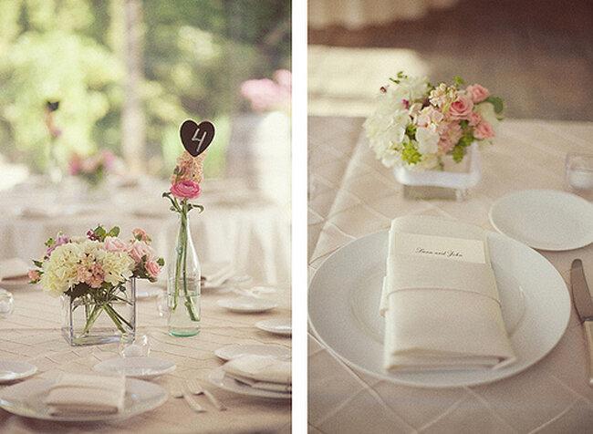 decoraciones sencillas para boda. Black Bedroom Furniture Sets. Home Design Ideas