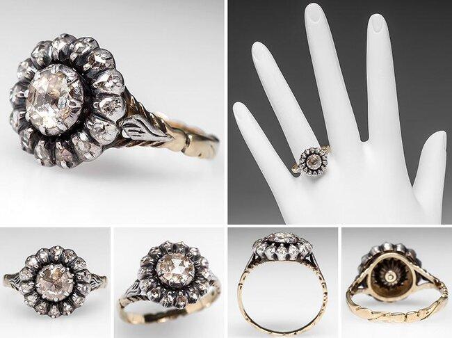 Conosciuto 50 (+1) anelli di fidanzamento vintage: una selezione dal sito EraGem BE91