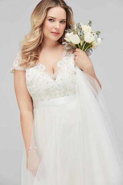 Vestidos de novia para mujeres gorditas: ¡Luce tu curvas de la mejor ...