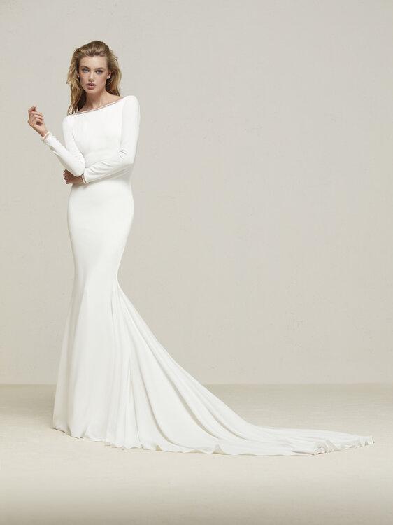 50 hinreissende Brautkleider für schlanke Frauen – Entdecken Sie die ...