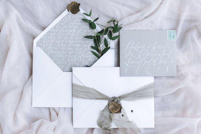 Внесезонные свадебные приглашения