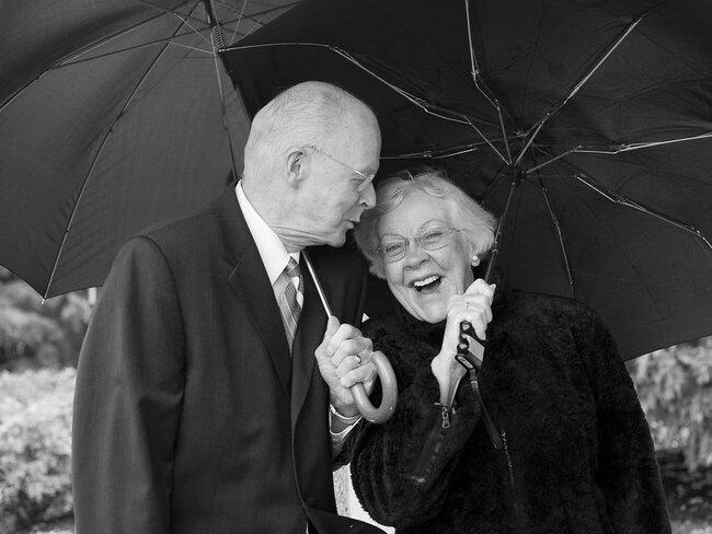 Doug und Fran, 55 Jahre verheiratet
