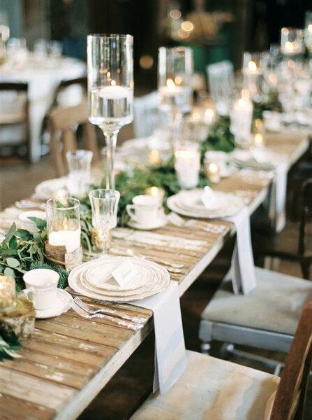 D coration de tables de mariage les plus belles tendances - Les plus belles decorations de mariage ...