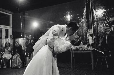 Las novias con crop top ¡se ven mejor! La boda mega trendy de Pao y Humberto