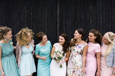 Bruidsmeisjes: 11 fouten die gemaakt kunnen worden en hoe die te voorkomen zijn!