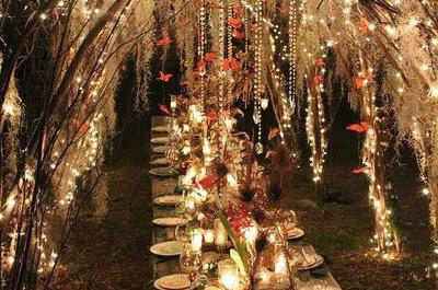 Ilumina tu boda con las ideas más originales que te dan los expertos