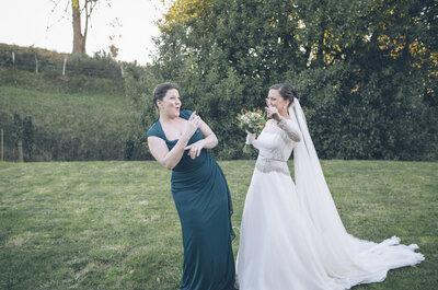 Momentos de tu matrimonio que solo entenderá tu mejor amiga ¡Así son las almas gemelas!