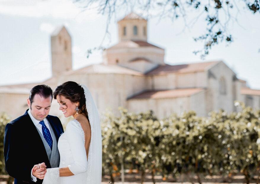 Castilla Termal Monasterio de Valbuena: un lujoso espacio de celebración de bodas