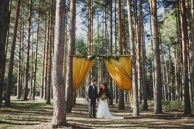 Cuando el amor se representa en terciopelo: una boda que marca la diferencia