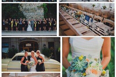 Celebrando casamentos de dia: 7 real weddings cheios de personalidade