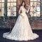 Brautkleider im Prinzessinnenstil 2016: Galia Lahav.