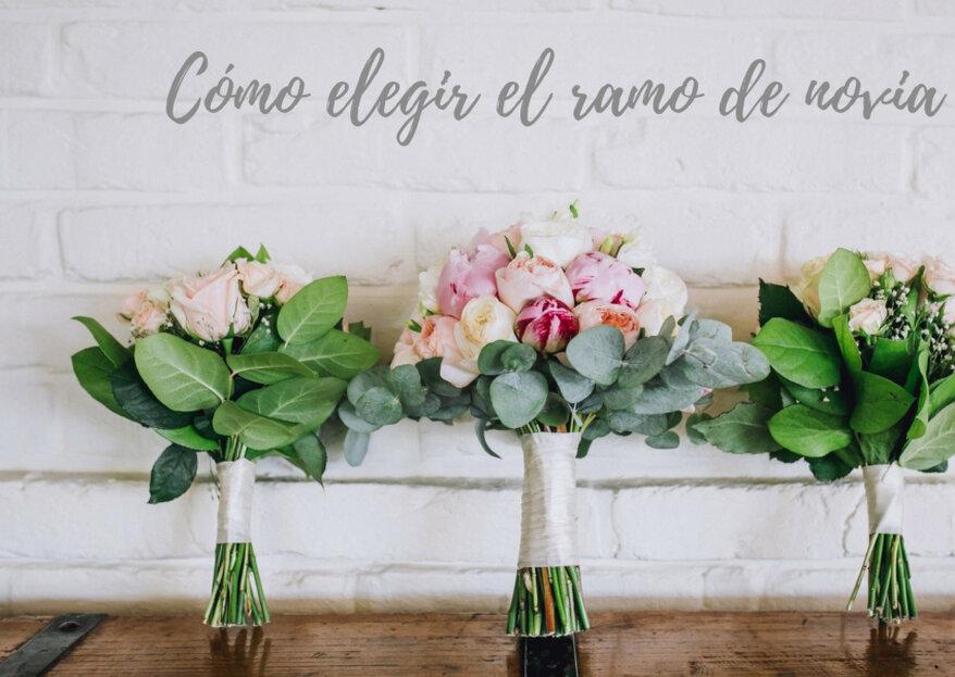 ¿Cómo elegir el ramo de novia perfecto? ¡Cinco factores a tener en cuenta!