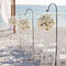 Flora decoration for your beach wedding aisle