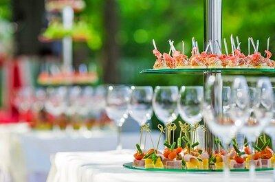 Всем по нраву: закуски, которые хотят видеть и пробовать на свадьбах!
