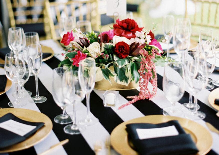 ¿Cómo elegir la mantelería para el día de tu matrimonio?