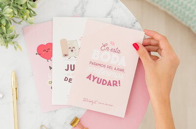 UNICEF y Mr. Wonderful quieren que el día de tu boda sea original y muy especial