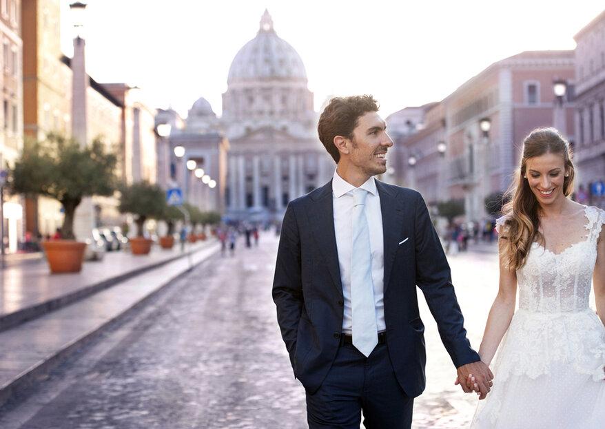 Quando due cuori pieni d'amore si uniscono: il matrimonio di Graziano e Carmela