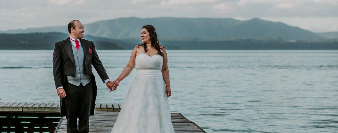 Paty y Diego, ¡una boda con toda la magia y romance del sur!