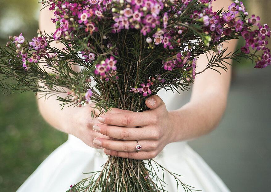 O ultravioleta vai ser a cor da moda em 2018 segundo a Pantone. Use-a no seu casamento!