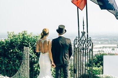 Dall'Australia con amore, le nozze di Alessandra e Matteo a Bergamo