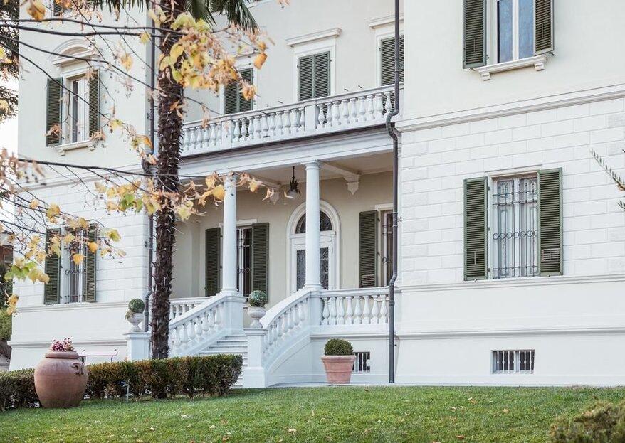 """Villa Erre: il calore e la bellezza di una """"casa"""" per le vostre nozze"""