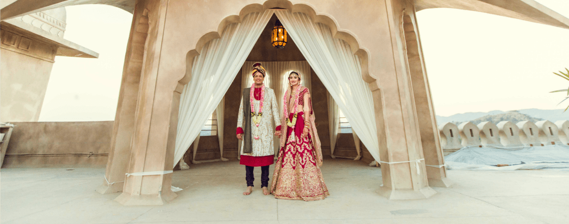 Fabulous destination wedding of Sareena and Manav- the one with pure love