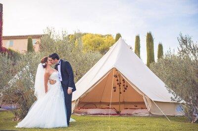 Le Wedding Camping : la nouvelle tendance 2016
