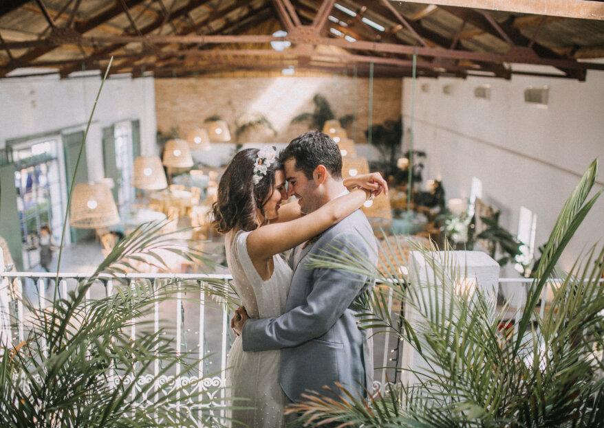 Macramé como símbolo de nuestra unión: la boda de Vero y Diego
