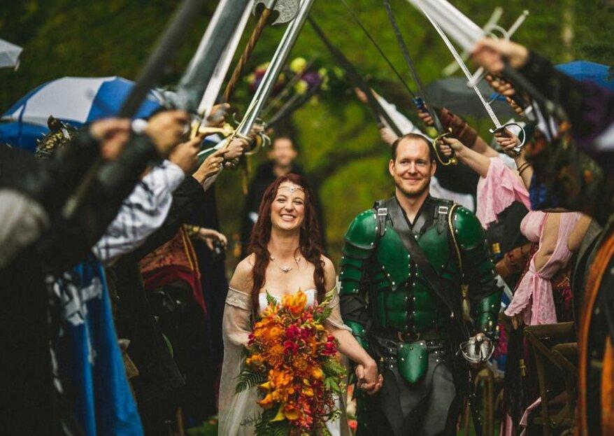 Cómo organizar una boda inspirada en Game of Thrones