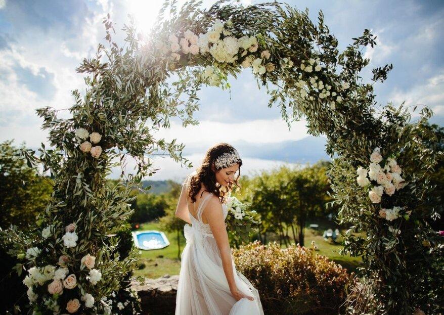 Un sogno che finalmente si avvera: quello delle vostre nozze nella location perfetta