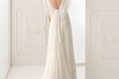 Vestido de noiva de costas decotadas: a minha escolha de hoje