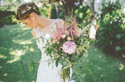 5 tocados de verano para 5 tipos de novias
