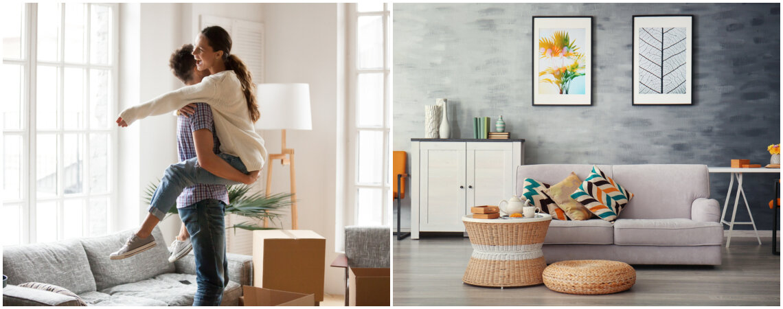 6 ideas prácticas para convertir tu primera casa en un hogar bonito y económico